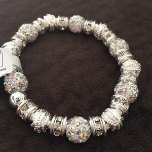4 for $20 💫 | Silver beaded bracelet